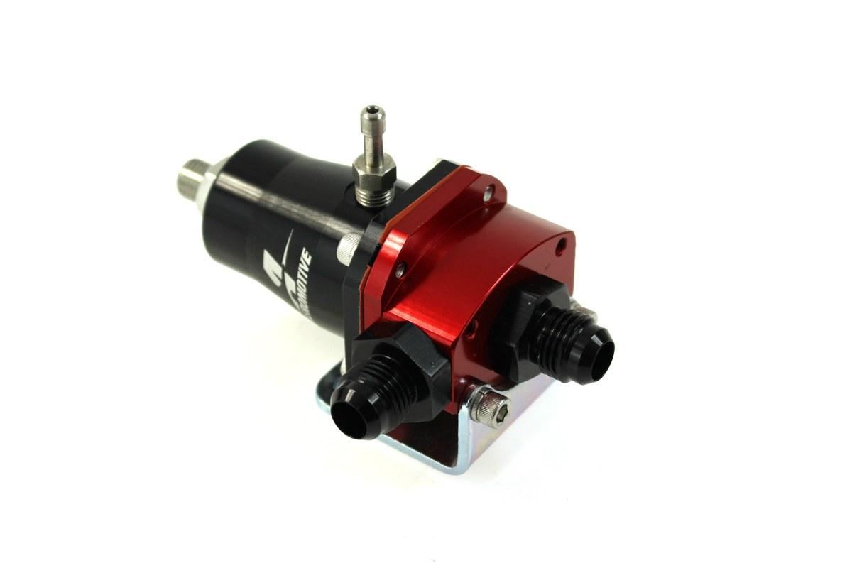 Regulator ciśnienia paliwa Aeromotive EFI 1000HP AN6 Red/Black - GRUBYGARAGE - Sklep Tuningowy